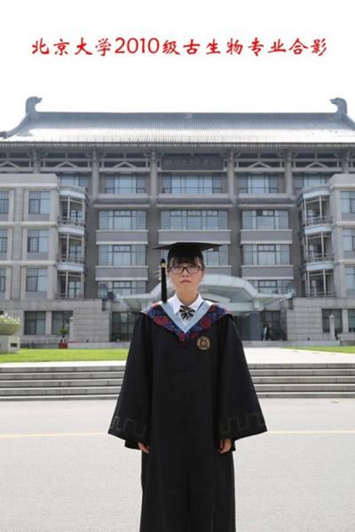 北京大学2010级古生物专业学生薛逸凡