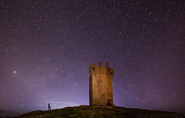 纳爱尔兰最北端的星空(作者:Martina Gardiner)