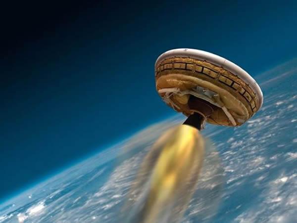 NASA飞碟状飞行器原型发射试验1周4度暂停