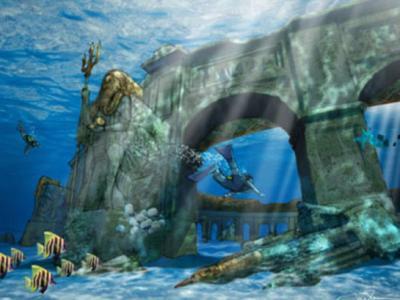 """迪拜计划在""""世界岛""""浅水区建造世界上最大的水下主题公园""""迪拜明珠"""""""