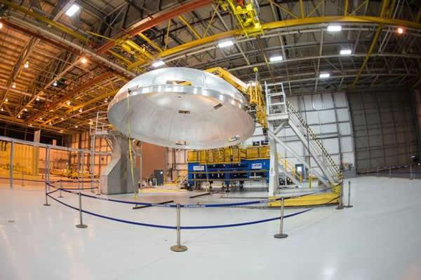 美国宇航局与波音公司正在联合制造SLS火箭关键部件