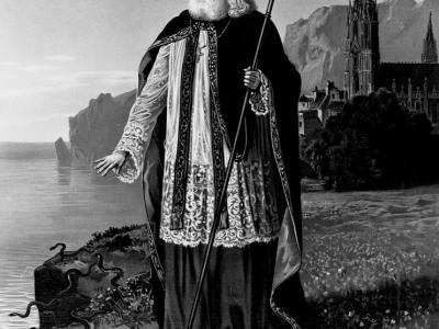 基督教传教士圣派屈克在公元5世纪消灭了爱尔兰的蛇?