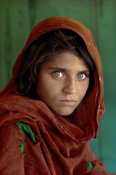 阿富汗少女莎尔巴特‧古拉