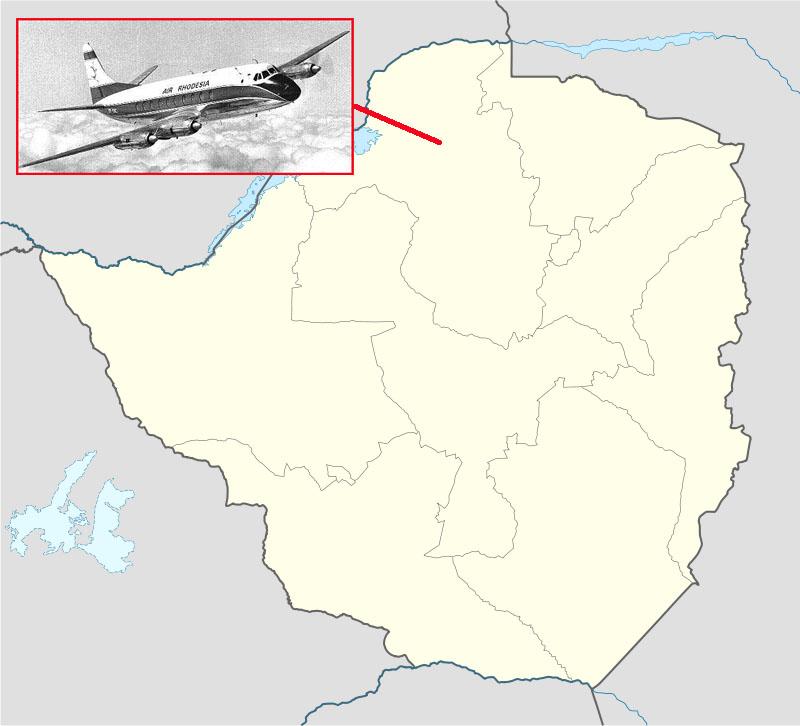 1979年2月12日,罗德西亚航空RH827被津巴布韦人民革命军ZIPRA的游击队用Strela2型的导弹击中,全部59名乘客加机组罹难。