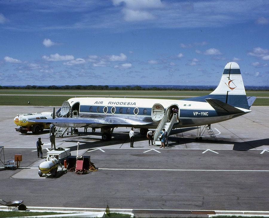 1978年9月3日,卡里巴飞津巴布韦的萨里斯布里,罗德西亚航空RH825被津巴布韦人民革命军ZIPRA的游击队用Strela2型的导弹击中,56个乘客中本来有1
