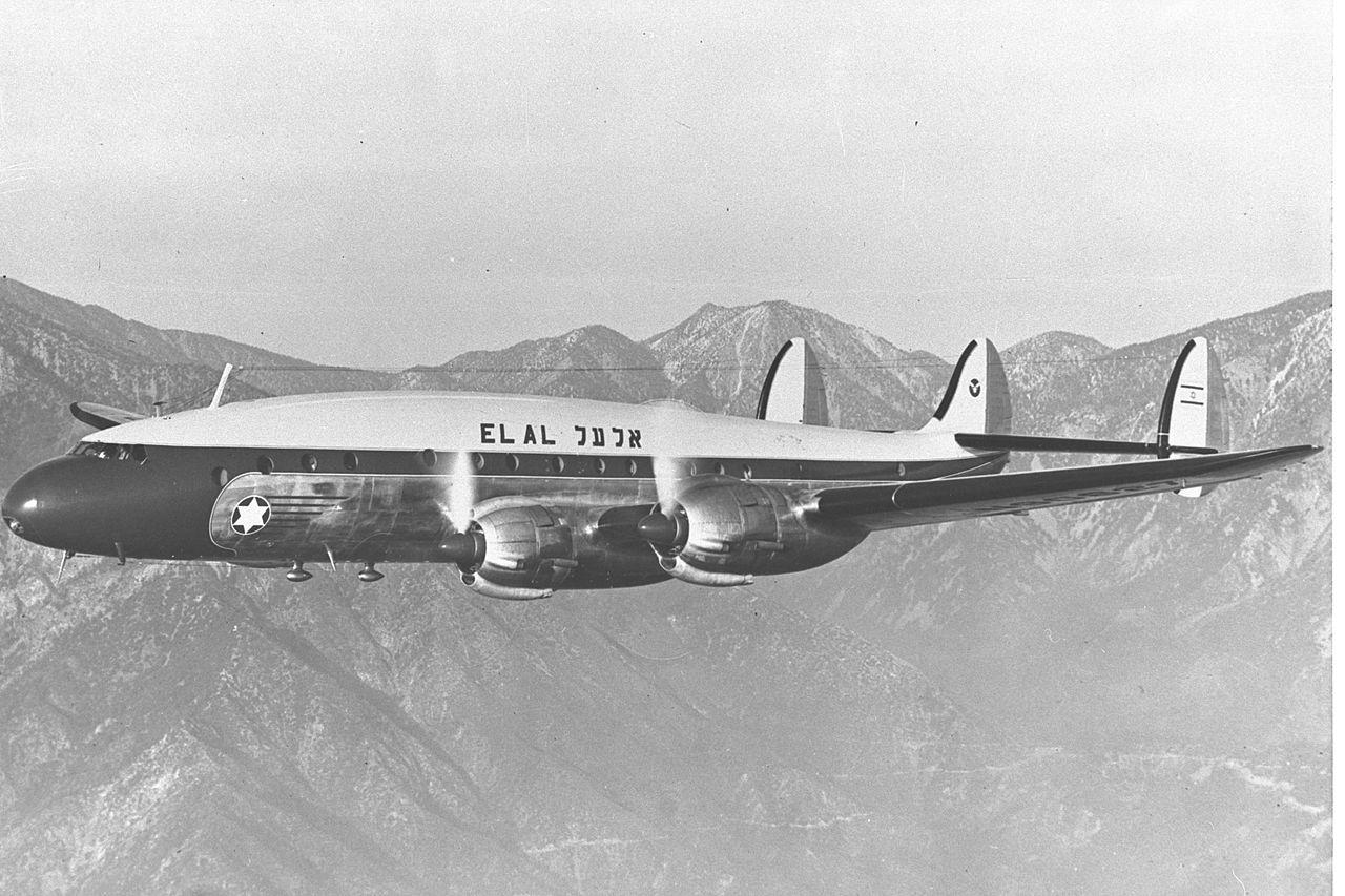 1955年7月27日,维也纳经停伊斯坦布尔飞往以色列特拉维夫的El Al Flight 402,在保加利亚领空被MiG-15喷气式战斗机在希腊国境线附近击中。2