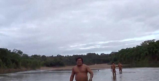 亚马逊土著人因毒贩猖獗和非法采伐被迫离开自己的部落