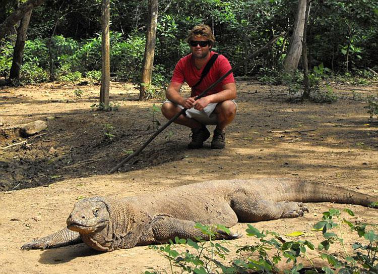 加兰特搬到加州后,开始研究动物。