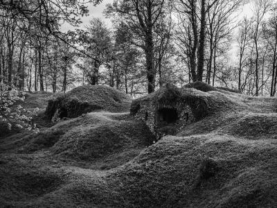 一战时隐藏的地下堡垒