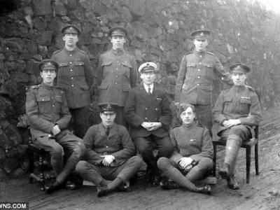 英国一家八兄弟参加一战全部活下来