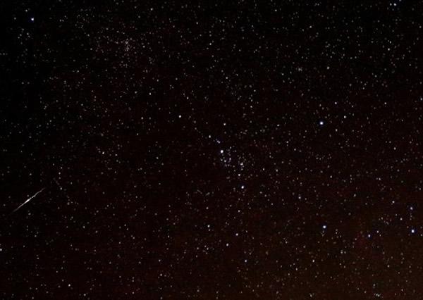 2014年8月6日摄于美国德克萨斯州的英仙座流星雨