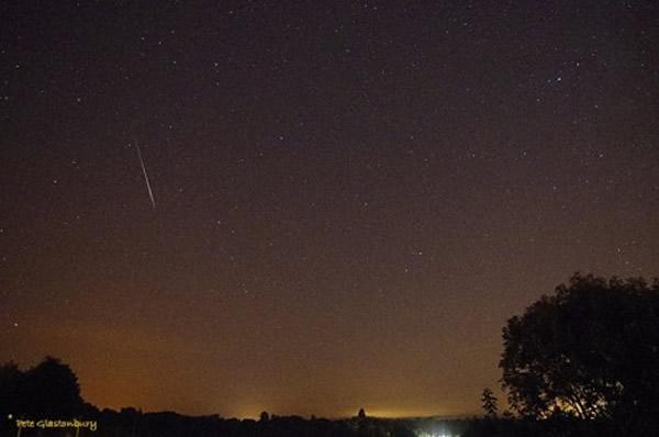 2014年8月7日摄于英国威尔特郡的英仙座流星雨