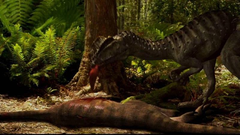 哪种恐龙在夜晚游荡