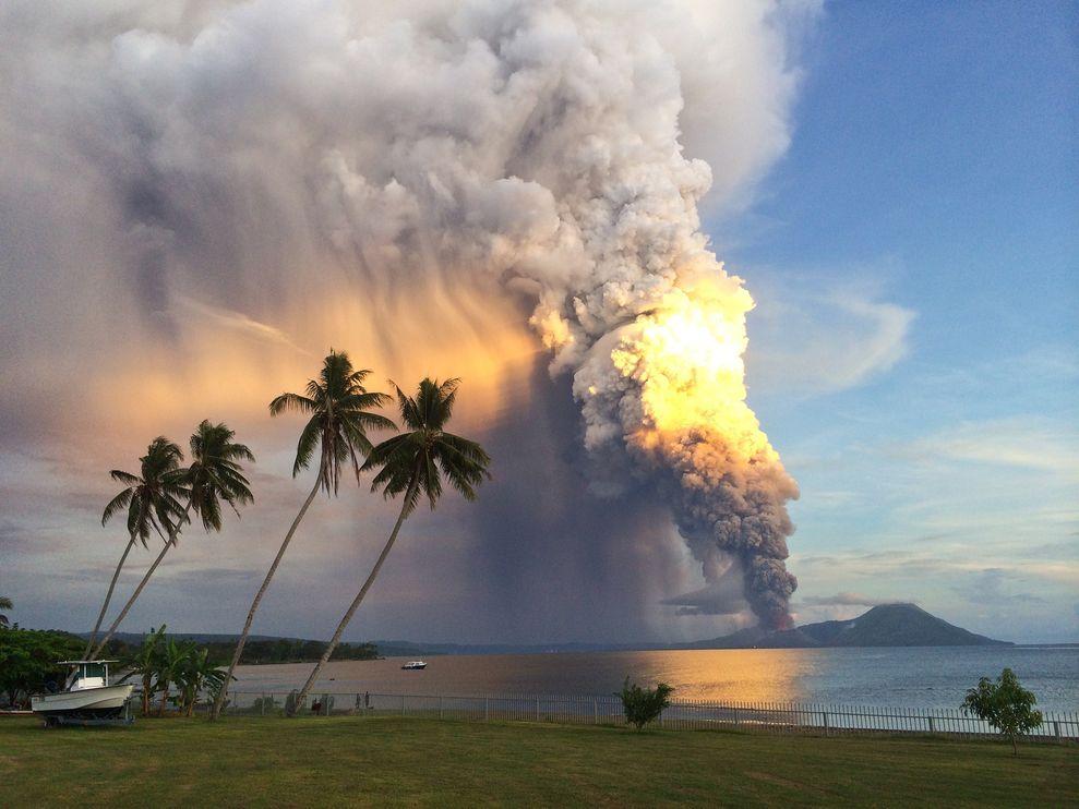 世界各地近期蠢蠢欲动的火山