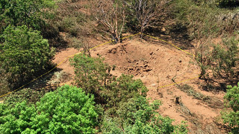 据初步推断,本次事件系一颗飞越地球上空的小行星上掉下一块陨石,砸在马那瓜国际机场附近,造成了这次冲击。