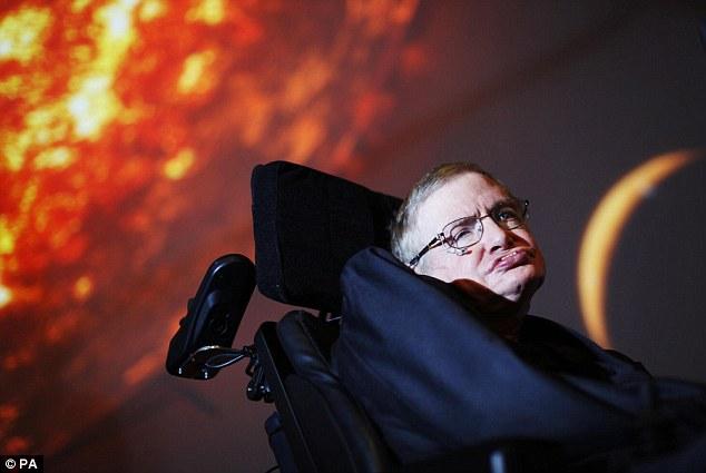 著名物理学家史蒂芬·霍金称想搭太空船在宇宙中过余生