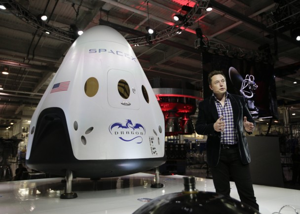SpaceX亦获NASA选中
