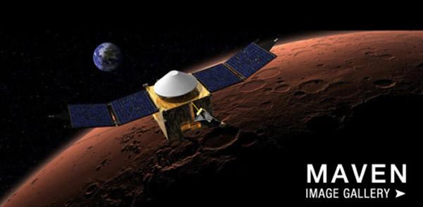 9月22日刚刚进入火星轨道的美国宇航局MAVEN探测器