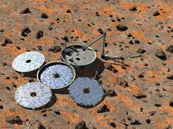 英国猎兔犬-2号着陆器搭载在欧洲火星快车飞船上抵达火星,但在降落火星地表后失踪。