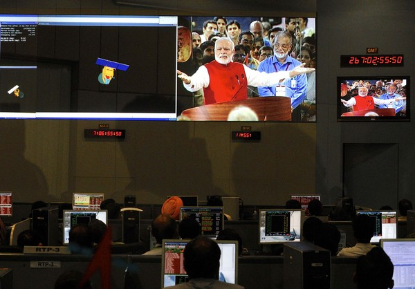 印度火星轨道探测器成功开始运作举国欢腾