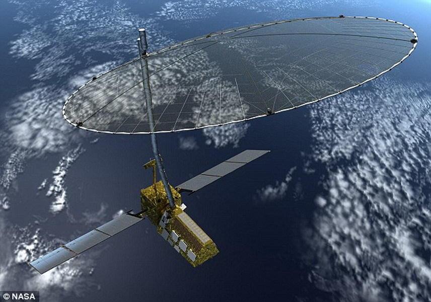 """美国宇航局和印度空间研究组织计划于2020年合作完成""""合成孔径雷达(NISAR)探测任务"""",该太空任务将对地球进行观测,勘测发现陆地表面发生的多样性变化。"""