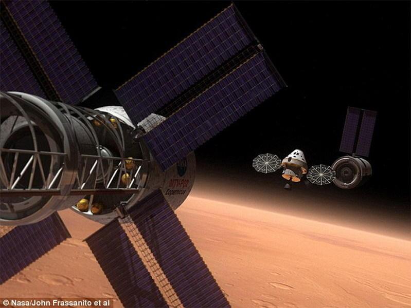 使宇航员处于休眠状态,这意味着太空飞船的体积会较小,将宇宙飞船的重量标准从400吨降低至220吨,宇航员通过鼻孔降低体温,将在180天的火星旅行中深度睡眠。