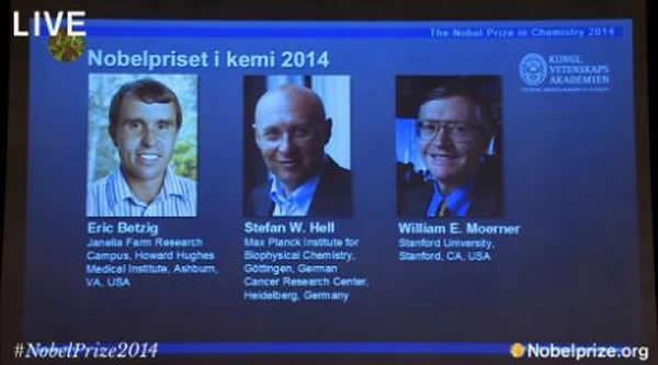 解读这三个科学家为何能获得诺贝尔化学奖