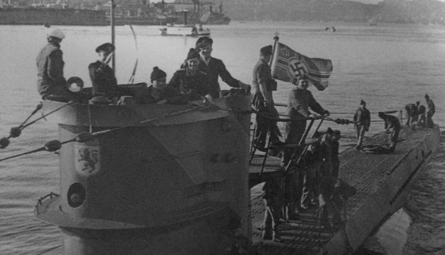 U-boat当年偷袭敌方船只后遭击沉