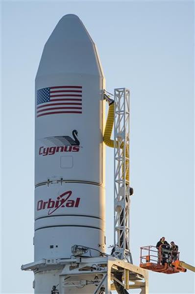 NASA指火箭在事故中损毁严重