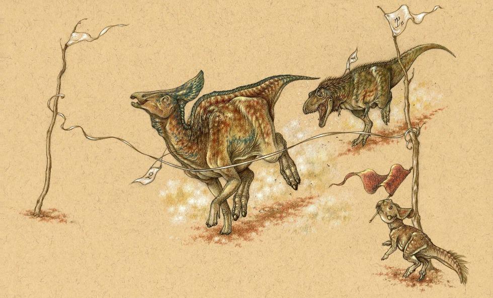 草食性鸭嘴龙如何成功的遍布北美到亚洲的各个地方