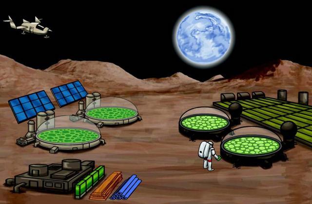 研究表明采用最新合成生物学技术将很大程度降低宇航员在火星基地的生活成本