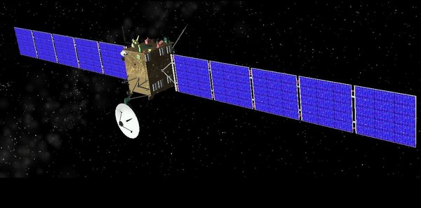 """太空旅行10年:""""罗赛塔号""""的菲莱登陆器要怒撞彗星"""