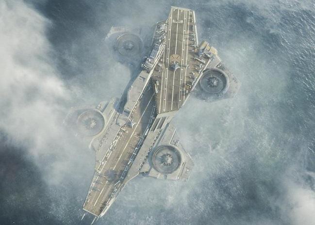 《复仇者联盟》中的浮空母舰有望成真。