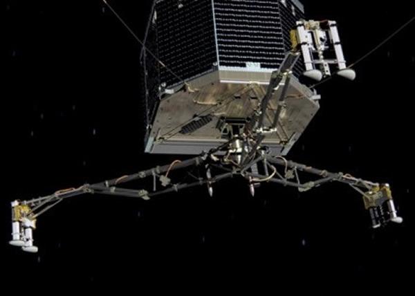 罗塞塔号早于2004便已升空。