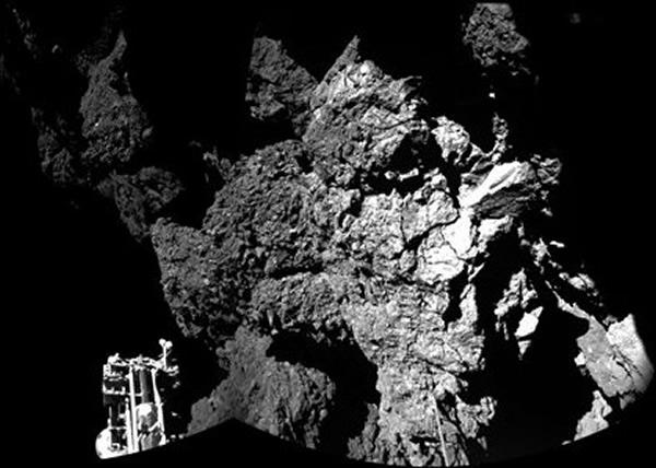 菲兰在断电前数小时,首次成功传送所有钻探数据返回地球。