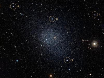 哈勃太空望远镜新发现迫使天文学家重新思索巨大古老星团的起源