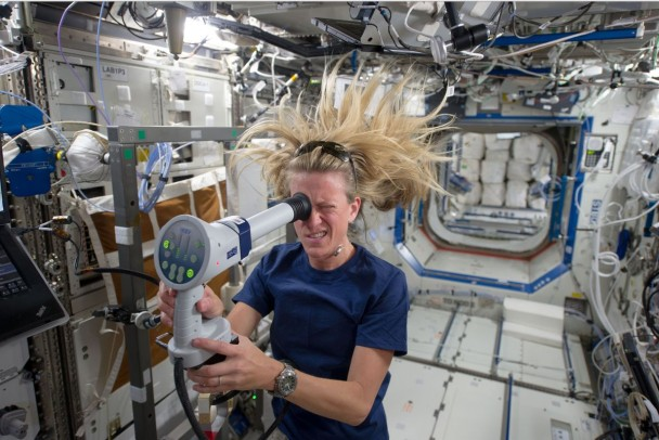 比较显示,较多女性在太空中得泌尿道感染。