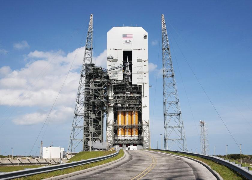 猎户座无人太空船将在周四晚发射升空