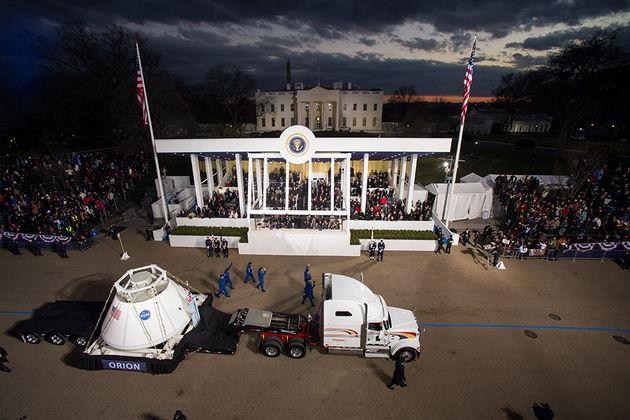 猎户座无人太空船将在佛州卡纳维尔角空军基地发射