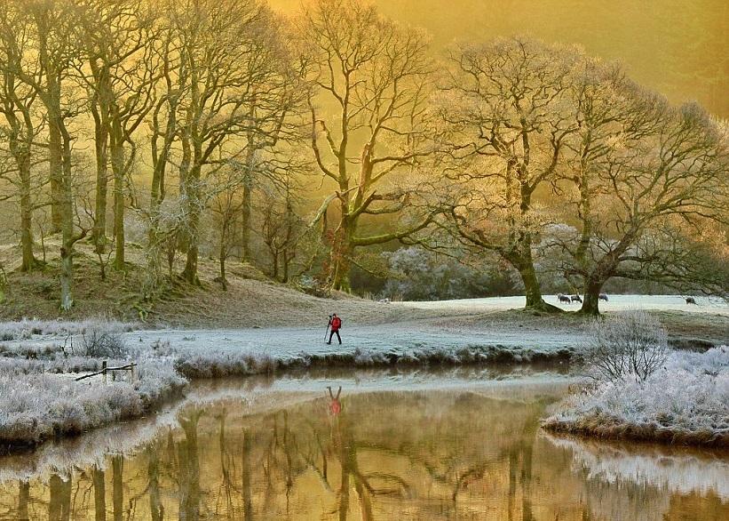 英国上周末突然急跌至摄氏零下6度