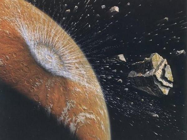 摩洛哥陨石中发现碳成分 火星上或曾经存在生命