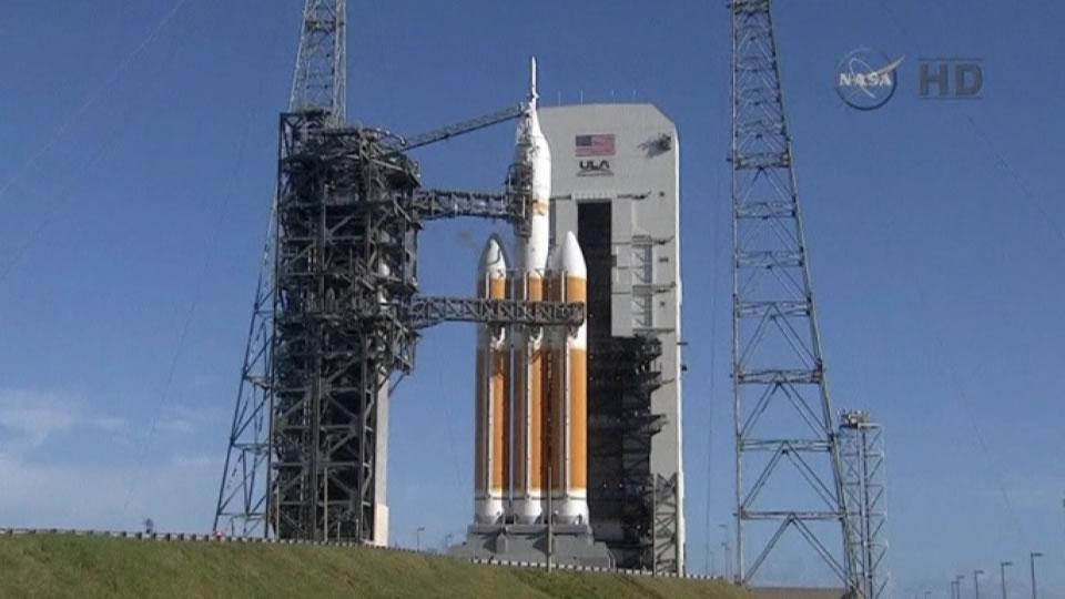 """美国宇航局""""猎户座""""飞船(Orion)因多种因素被推迟24小时发射"""