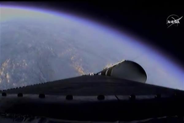 火箭已进入太空
