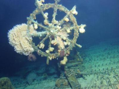 """美国夏威夷海底发现一艘二战时沉入海底的""""鬼船"""""""