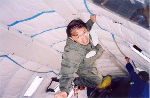 郭正光目前正为美国太空总署研发太空食品