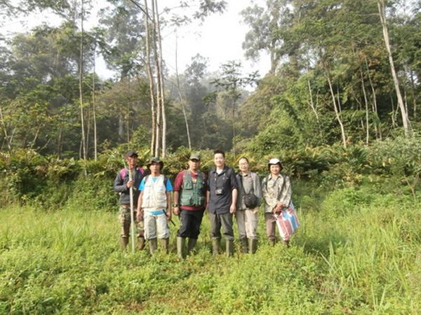 中科院植物所科研人员完成印度尼西亚爪哇岛2014年植物多样性考察