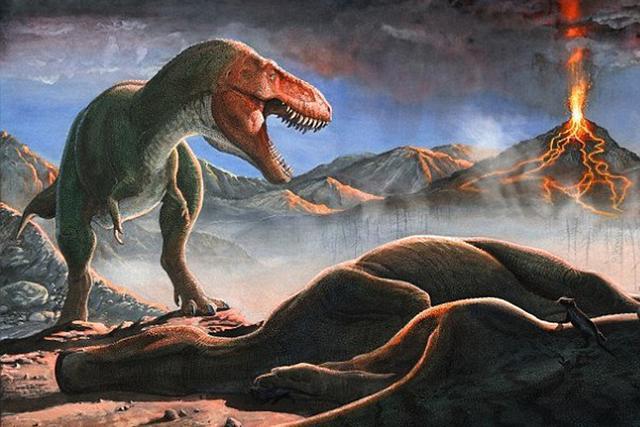 美国研究人员发现有更多的证据显示在小行星撞击前地球上出现了大规模火山喷发,也对恐龙的灭绝产生了促进作用