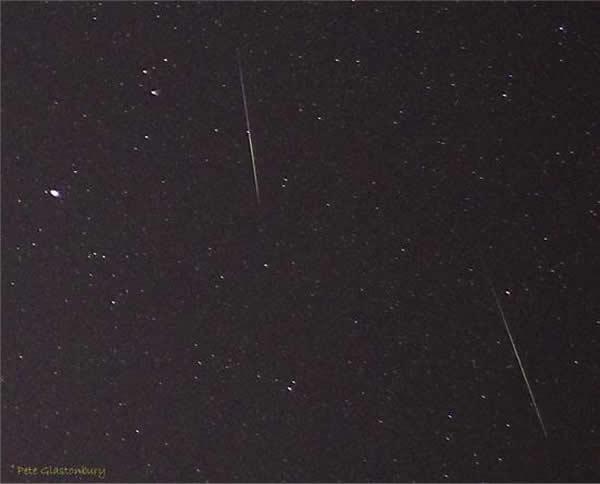 英国威尔特郡,双子座流星。