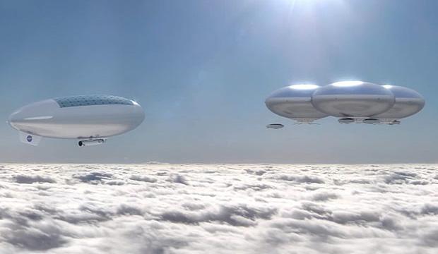 科学家想到以空中浮城,在金星上生活。
