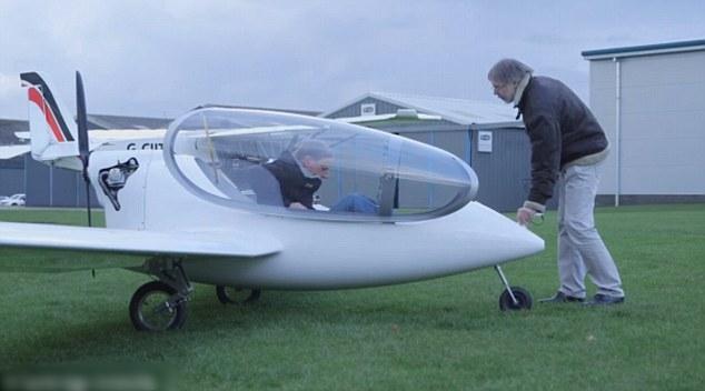 混能飞机只能让一人乘坐